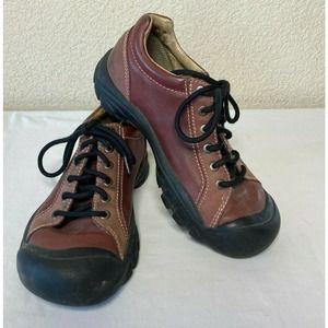 Keen Footwear Leather Hiking Walking Shoe Lace Up